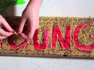 We Are Young- Fun. (String Art)