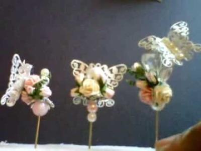 Wild Bunch - Butterfly Stick Pins - Shilpa