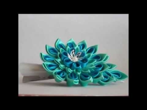 All colors and master classes kanzashi Alina Boloban