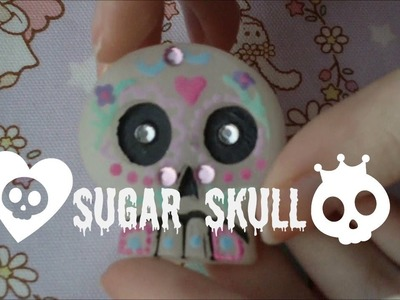 Craft Challenge #1 - Day of the Dead Skull ~Frainy x Fuzzy~