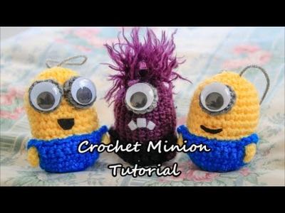Crochet (Amigurumi) Minions  Tutorial