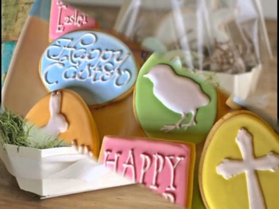 Decorating Easter Cookies - New Ideas [HD]