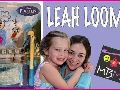 Disney Frozen Olaf Rainbow Loom Band Bracelet Tutorial by Leah