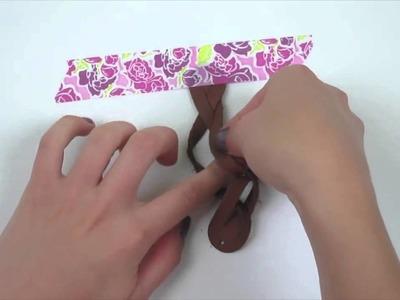 DIY Magic Bracelet  Sizzix Originals Die