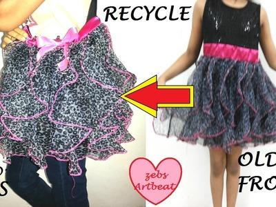 DIY Recycle Frocks.skirts into handbags!