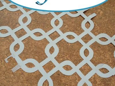 DIY Stencil for Home Decor