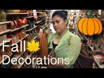 FALL DECORATIONS - September 22, 2014