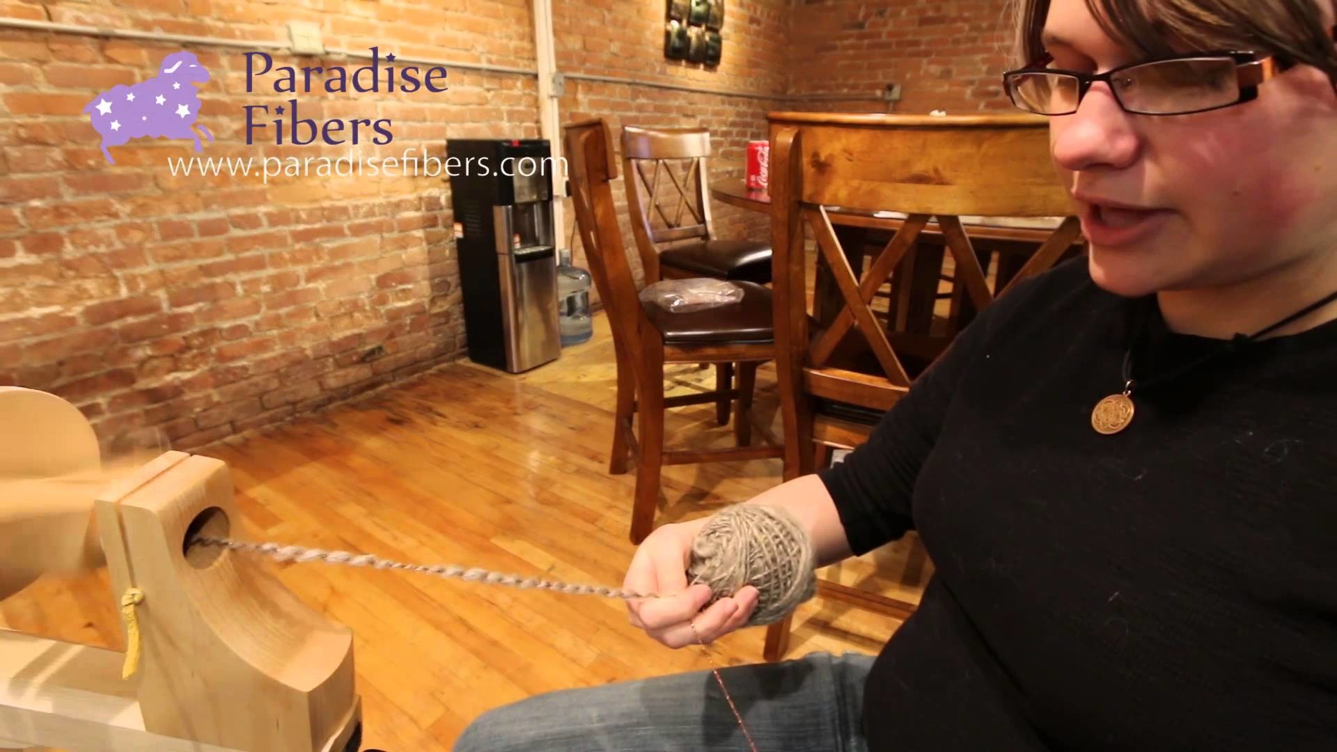 How to Artyarns Instruction on Spiral Plying on a Spinning Wheel