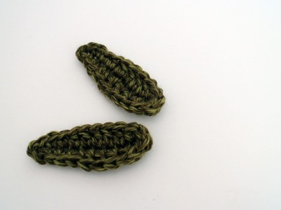 How to Crochet a Leaf Left Handed: Beginner Friendly Tutorial