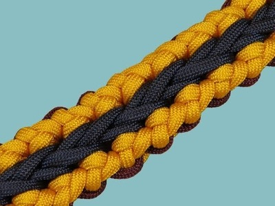 How to make a Nibiru Sinnet Paracord Bracelet Tutorial (Paracord 101)