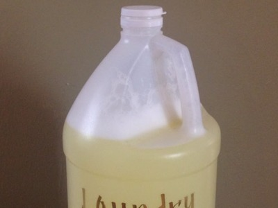 How To Make Homemade Liquid Laundry Detergent - DIY Home Tutorial - Guidecentral