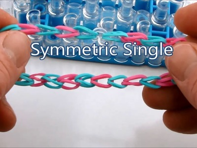 How to make the Symmetric Single bracelet on the Rainbow Loom