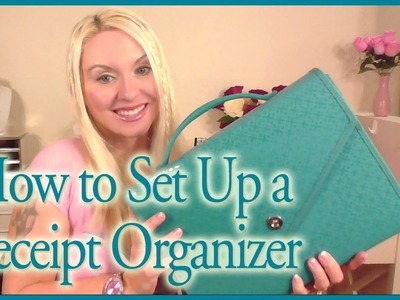How to Set Up a Receipt Organizer with an Accordion File