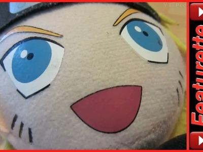 Kids Naruto Toys Stuffed Plush Doll w. Headband & Costume in Shippuden Manga & Anime Movies