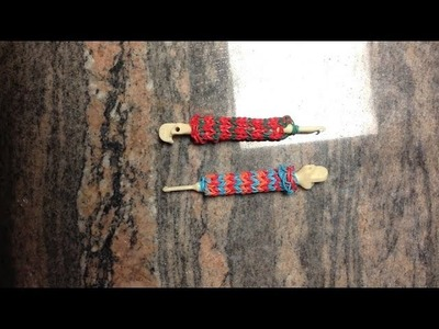 *NEW!* How to Make A Rainbow Loom Hook.Pencil Grip!