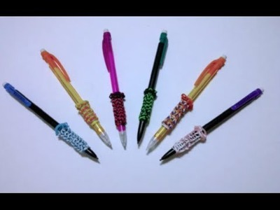*New* Video~41~ Rainbow Loom Pencil Grippers