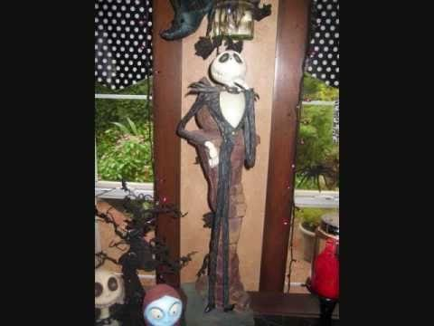 Nightmare before christmas decorations part 2 oogie boogie