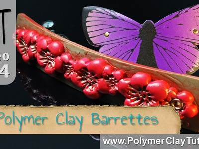 Polymer Clay French Barrettes Tutorial Series (Intro)