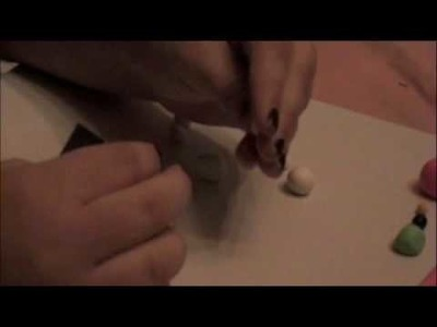 Polymer Clay-How to Make a Hello Kitty
