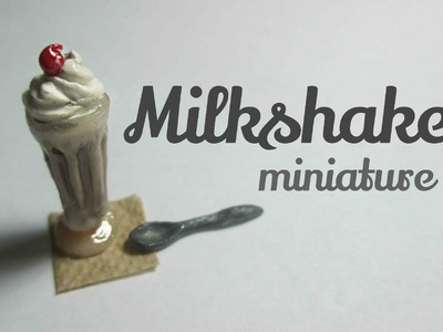 Polymer Clay Milkshake Tutorial - No Glass (Miniature Mondays)