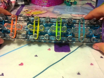 Rainbow Loom - Mini Bow Bracelet - Easy