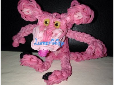Rainbow Loom Pink Panther