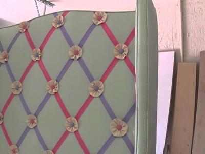 Upholstered Headboard for little girls room