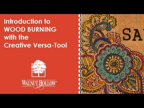 Walnut Hollow® | Wood Burning for Beginners using the Creative Versa-Tool®