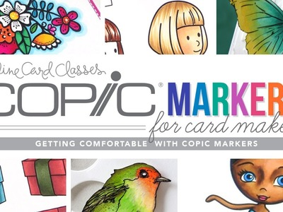 Win a free spot in Copic Markers for Card Makers class!