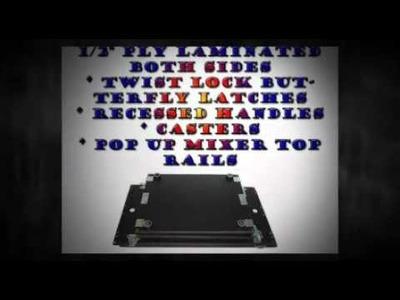 Affordable DIY Rack Mixer Cases