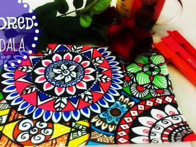 ♥ Colourful Mandalas Painting ♥