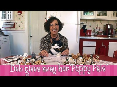 "Deb  Felix Give Away Polymer Clay ""Puppy Pals!"""
