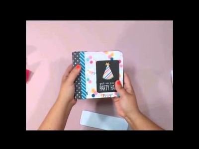 Decorative Box with Mini Aibum Birthday