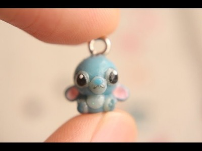 Disney Series: Stitch Charm Tutorial (Polymer Clay)