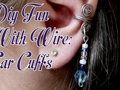 DIY Fun With Wire: Ear Cuffs - Part 1