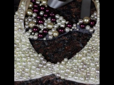 DIY Pearl Bib Collar Necklace