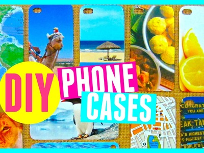 DIY Phone Cases | EASIEST Way to Customize Phone Cases