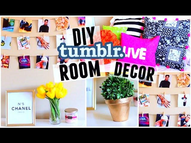 DIY Room Decor! Tumblr Inspired | Easy & Cheap! 2015 Redo Your Room!