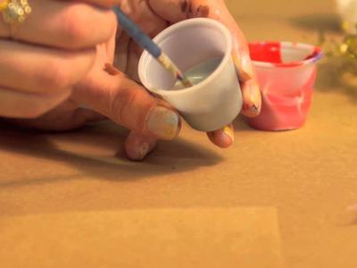 Handmade Fairy Barrette : Crafts for Kids