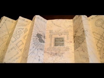 Harry Potter Marauder's Map DIY | CassKnowlton