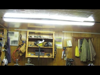 How to Convert Fluorescent Tube Lighting to LEDs