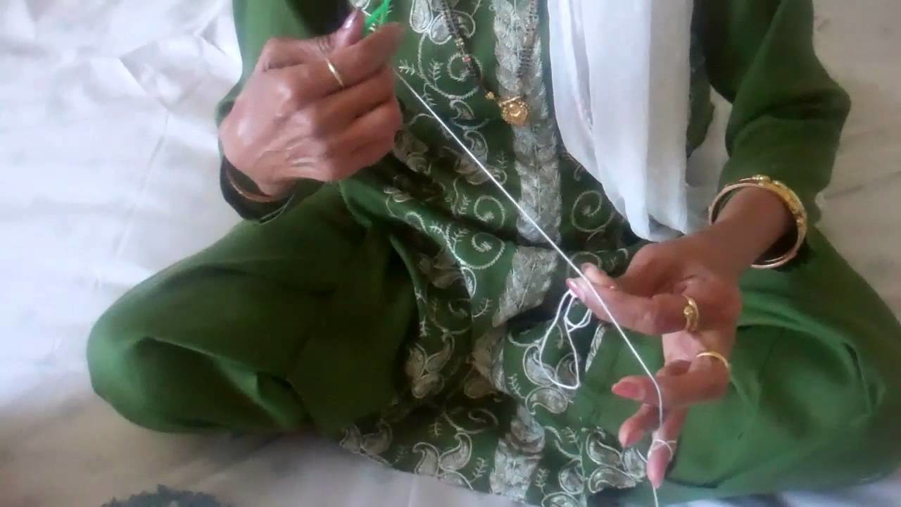 How to do Tatting by Dr. Shashi Khare - 6