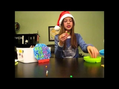 How to Make A Perler Bead HOLIDAY Stocking!!