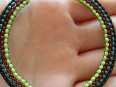 How To Make Funky Bead - DIY Decorated Hoop Earrings Tutorial - Style