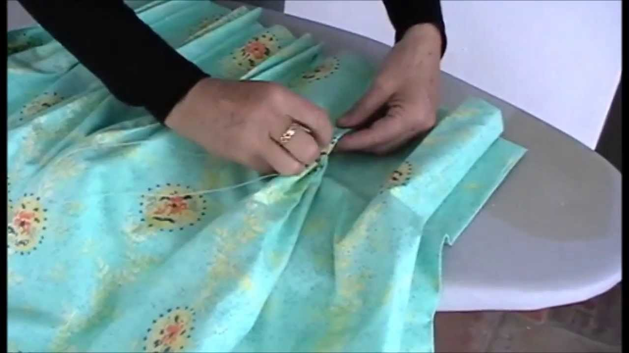 HOW TO MAKE PINCH PLEAT CURTAINS - Part 2 - YouTube