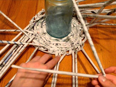 HOW TO : Newspaper Basket Walls