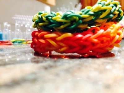 *NEW!* How to Make a Rainbow Loom Snaketail Bracelet! (Reversible)
