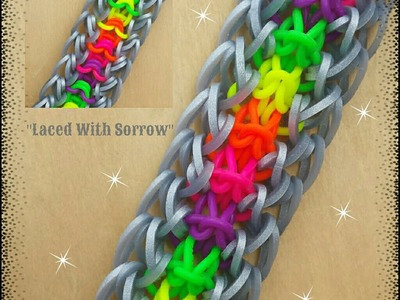 "New ""Laced With Sorrow"" Hook Only Bracelet.How To Tutorial"