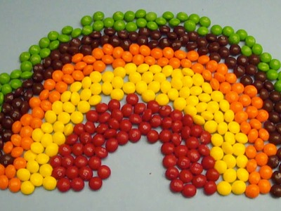 New Learn Colours with Surprise Eggs and a Skittles Rainbow! Lesson 5