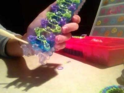 New Rainbow Loom Checkerboard Bracelet